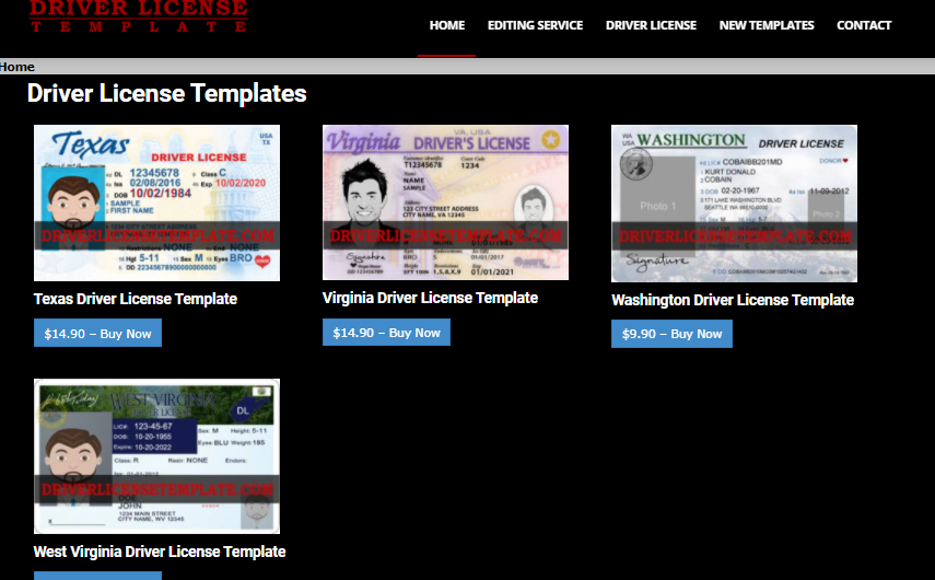 Buy Driver License Template – Save Time and Money!